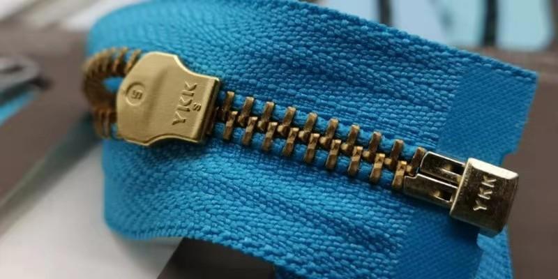 YKK金铜牙服装拉链